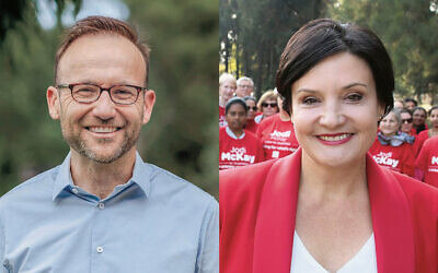 The Greens' Adam Bandt (left) and NSW Labor's Jodi McKay (right) have been condemned for one-sided comments.