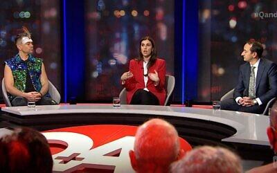 Mitch Tambo, Randa Abdel-Fattah and Dave Sharma on Q&A.