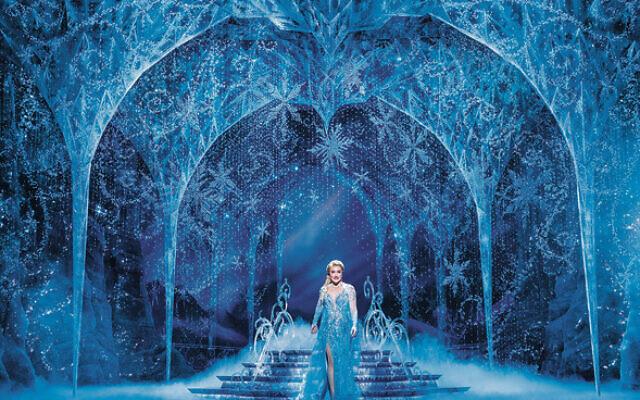Jemma Rix as Elsa in Frozen. Photo: Lisa Tomasetti