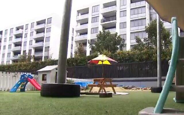 Montessori Preschool in Mascot. Photo: Screenshot, Nine News