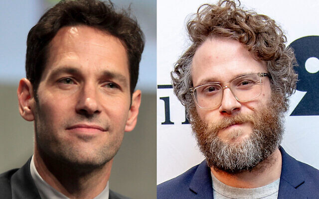 Paul Rudd (left) and Seth Rogen. Photos: Gage Skidmore, Roy Rochlin/Getty Images