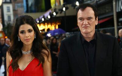 Quentin Tarantino and wife Daniela Pick. Photo: Joel C Ryan/Invision/AP