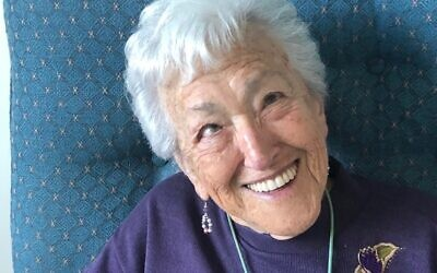 Lilly Skurnik OAM was determined to live life to the fullest.