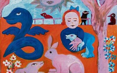 Family Gathering in the Dream Park (detail), 2008. Photo: William Mora Galleries ©The Estate of Mirka Mora