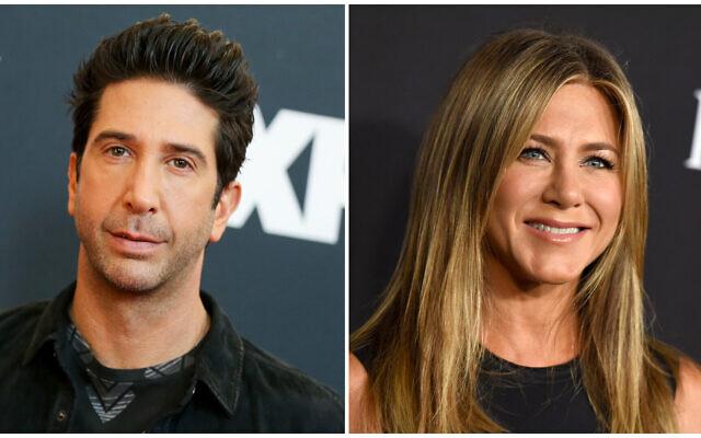 (L) David Schwimmer (Rich Fury/Invision/AP, File) and (R) Jennifer Aniston (Jordan Strauss/Invision/AP, File)