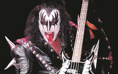 Kiss' Gene Simmons.