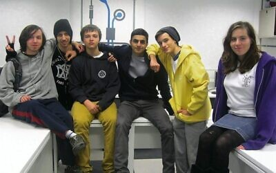 Students in the Keren Hayesod-UIA supported Net@ program.