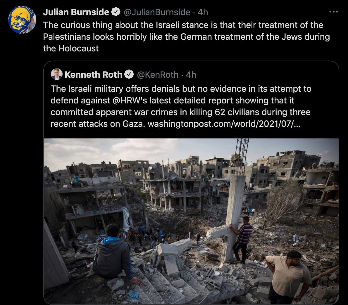 Burnside tweet slammed, apology rejected