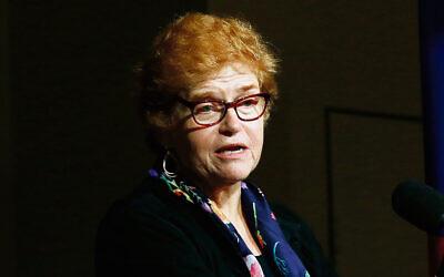 Deborah Lipstadt at the Melbourne 2019 Writers Festival. Photo: Peter Haskin