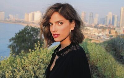 Actor, producer, author, speaker and activist, Noa Tishby.