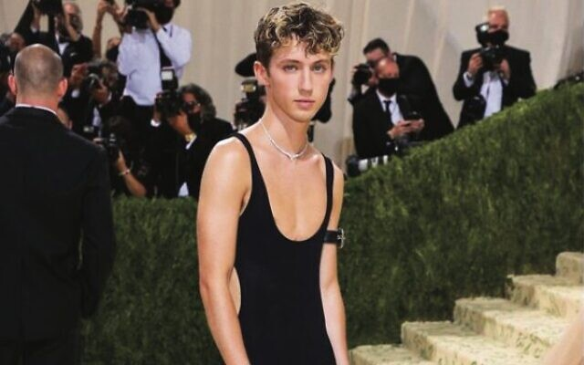 Troye Sivan at the Met Gala. Photo: Instagram