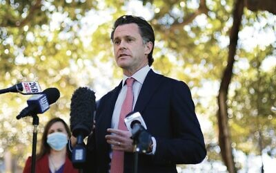 NSW Labor Leader Chris Minns has publicly opposed BDS. Photo: AAP Image/Dan Himbrechts