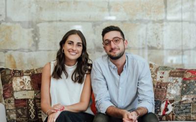The Daily Aus co-founders Zara Seidler and Sam Koslowski.
