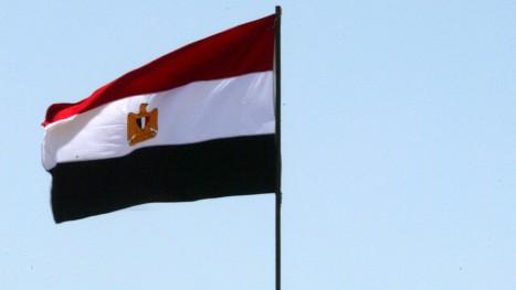 العلم المصري (بعدسة عبد الرحيم خطييب/ فلاش 90)