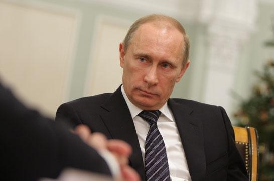 الرئيس الروسي فلاديمير بوتين (photo credit: CC-BY-SA courtesy Russian Government website)