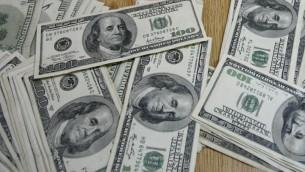 الدولار الامريكي (بعدسة عبد الرحيم خطيب/ فلاش 90)