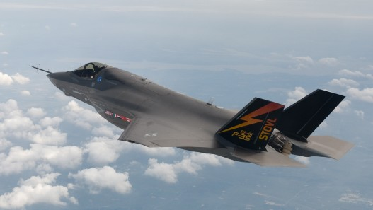 طائرة F-35 أوكتوبر 2008 (بعدسة ليز كازينسكي/ فلاش 90)