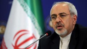 وزير الخارجية الايراني محمد جواد ظريف (أ ف ب / أرشيف اوزان كوجي)