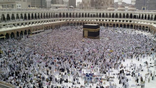 الكعبة الشريفة, مكة المكرمة (photo credit: CC BY-SA Al Jazeera English, Flickr)
