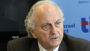 رئيس الهيئة التجارية الاسرائيلية فلسطينية  دافيد سيمخة (مقدمة من المشروع الاسرائيلي)