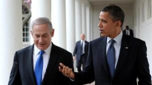 بنيامين نتنياهو يلتقي باراك اوباما في واشنطن ٢٠١٣ (فلاش ٩٠)