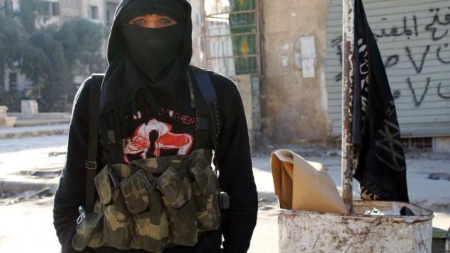 مقاتل اسلامي في سوريا (ا ف ب/ارشيف براء الحلبي)