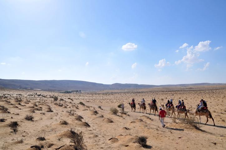 صورة لصحراء النقب (بعدسة شاي ليفي/ فلاش 90)