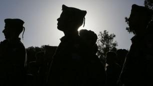 جنود في الجيش الاسرائيلي (فلاش 90)