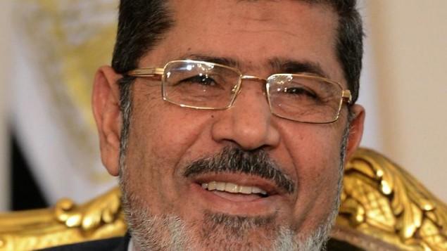 الرئيس الاسلامي المعزول محمد مرسي (أ ف ب ارشيف)