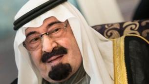 العاهل السعودي الملك عبد الله بن عبد العزيز ( ا ف ب/ا ف ب بريندان سميالوفسكي)