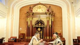 صورة توضيحية لكنيس في كييف (فلاش 90)