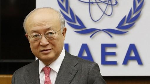المدير العام للوكالة الدولية للطاقة الذرية يوكيا امانو 3 مارس 2013 (أ ف ب)