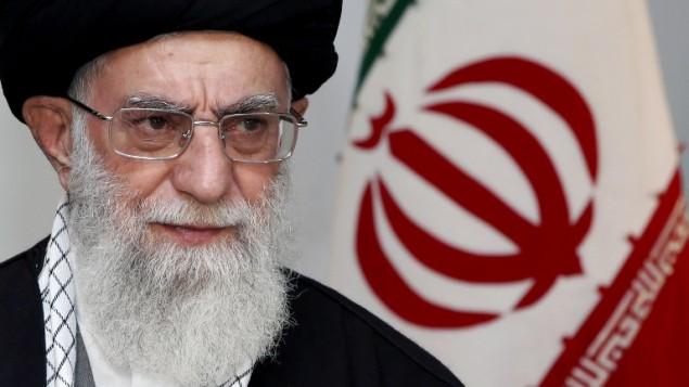 صورة مقدمة من مكتب آية الله خمينائي (موقع القائد الايراني الاعلى/ أ ف ب)
