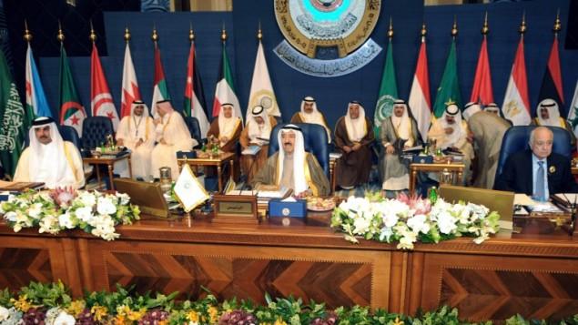 الجامعة العربية في الكويت، قمة 2014 , 25 مارس 2014 (بعدسة ياسر الزيات/ أ ف ب)
