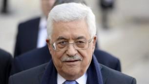 رئيس السلطة الفلسطينية محمود عباس (بعدسة اليان جوكارد/ أ ف ب)