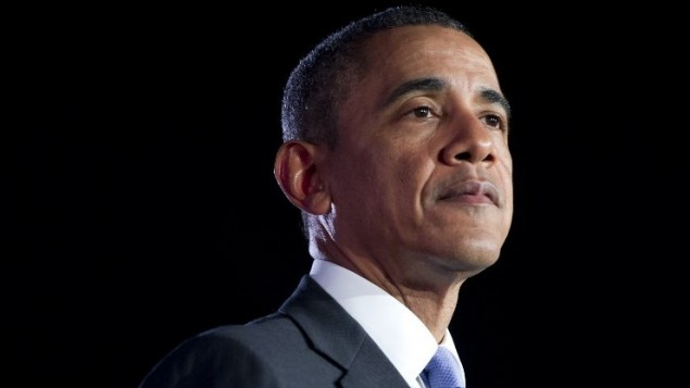 الرئيس الامريكي باراك اوباما يتحدث عن الفرص الاقتصادية في جامعة فالنسيا اورلاندو 20 مارس 2014 (بعدسة سول ليوب/ أ ف ب )