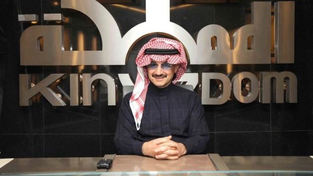 الامير السعودي الوليد بن طلال (من صفحة الفيسبوك الرسمية للامير)