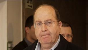 وزير الدفاع موشي يعالون ٩ مارس ٢٠١٤ (فلاش ٩٠)
