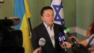 أوليكساندر فيلدمان النائب اليهودي الاوكراني (مقدمة من اللجنة اليهودية الاوكرانية)