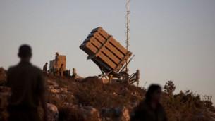 نظام الدفاع الصاروخي القبة الحديدي (فلاش 90)