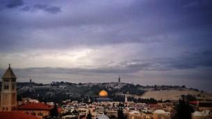 القدس (بعدسة سارا تاتل سينجر/ طاقم تايمز اوف اسرائيل)