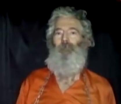 روبرت ليفنسون اختفى منذ سبعة اعوام في جزيرة كيش في ايران اثناء رحلة عمل (من شاشة اليوتوب )