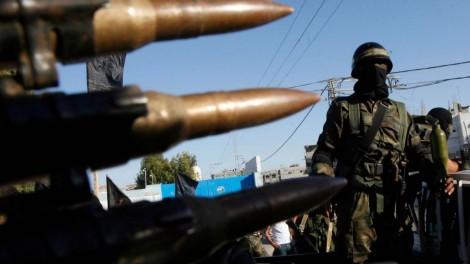 مسلحون من الجهاد الاسلامي في مخييم اللاجئين رفح جنوب غزة (بعدسة عبد الرحيم خطيب/ فلاش 90)