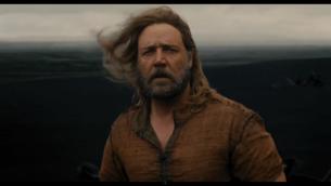 """راسل كرو في فيلم """"نوح"""" (من شاشة اليوتوب)"""