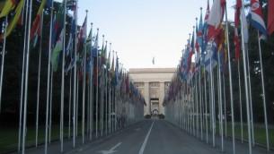 مبنى الامم المتحدة في جنيف سويسرا (photo credit: CC BY cometstarmoon/flickr)