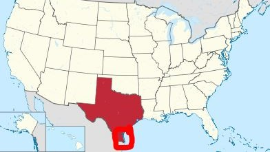 مرشح الكونجرس آلان ليفين لديه خطة السلام في الشرق الأوسط: ان تبدل إسرائيل الضفة الغربية بهذه الأرض في جنوب شرق تكساس. (http://allanleveneforcongress.com/new-israel/)