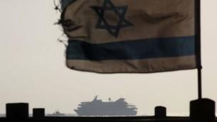 المافي مرمرة كما ظهرت من الساحل الاسرائيلي ٢٠١٠ (كوبي جدعون/ فلاش ٩٠)