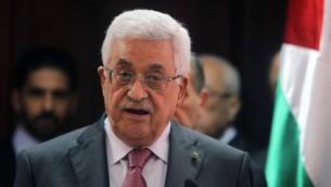 رئيس السلطة الفلسطينية محمود عباس (بعدسة عصام ريماوي/ فلاش ٩٠)