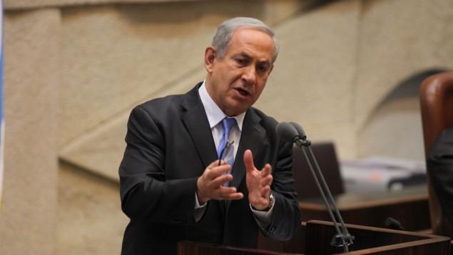 رئيس الوزراء بنيامين نتنياهو ١٩ مارس ٢٠١٤ (فلاش ٩٠)