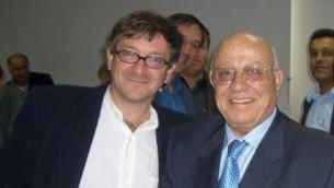 رون بونداك مع ابو علاء (مقدمة من رون بونداك)